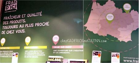 Mangez frais Achetez local, c'est Frais d'ici près de Toulouse - Kaderick en Kuizinn