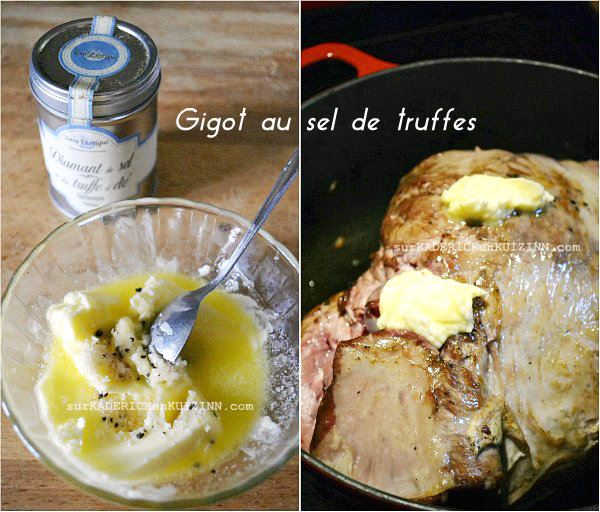 Agneau pres sales - Gigot cocotte basse température|Kaderick en Kuizinn.com©