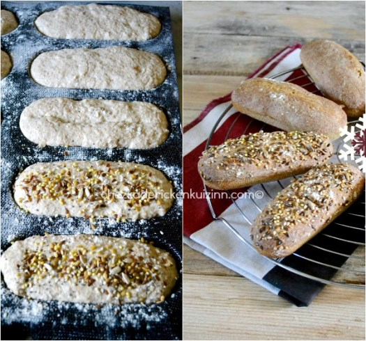 Pain epeautre - Petit pain de Noël levain et épeautre|Kaderick en Kuizinn©
