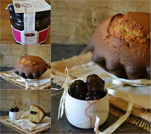 Tourte Pyrenees - Gâteau régional revisité en tourte aux pruneaux