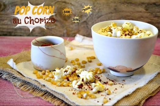Jour 11 Calendrier de l'avent 2014 chez Kaderick en Kuizinn© pop corn au chorizo