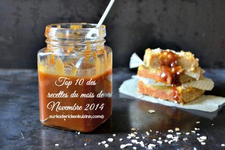 Novembre 2014 - Top 10 recettes de Novembre sur Kaderick en Kuizinn©