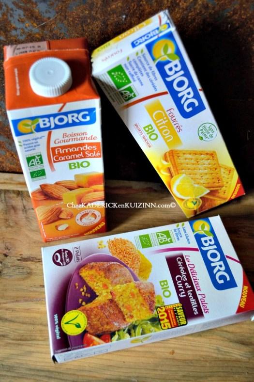 Bjorg - Présentation des nouveautés Bjorg 2015 du bion, du sain et du sans gluten chez Kaderick