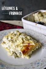 Cuisine legume - Dégustation lasagnes fraiches brousse artichaut et champignon - Kaderick