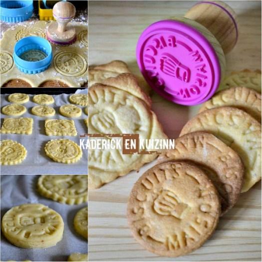 Biscuits fourres au caramel beurre salé au Toblerone noir - Kaderick en Kuizinn