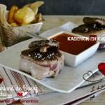 Recette Chateaubriand boeuf - Duo de boeuf sauce piquillos |Kaderick en Kuizinn