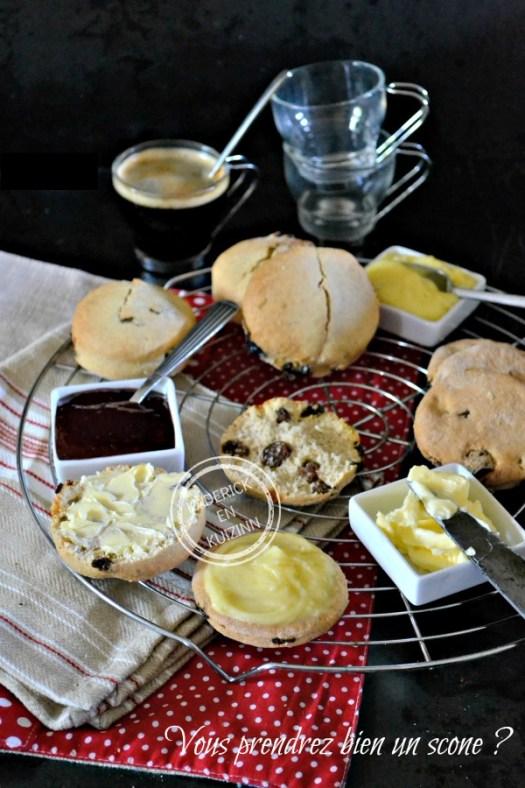 Dégustation Scones - Préparation bio Marlette scones à l'anglaise chez Kaderick en Kuizinn