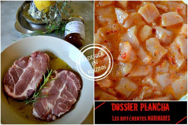 Recette marinade - Dossier marinade et plancha côte boeuf chez Kaderick en Kuizinn