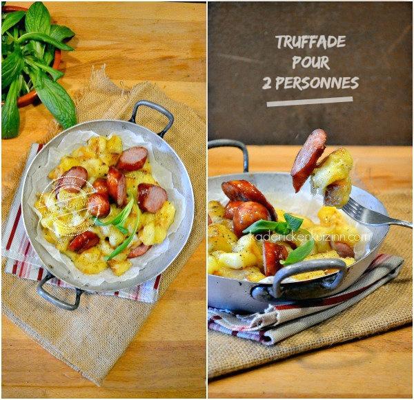 Présentation truffade - Recette truffade tomme fraîche Montbéliard chez Kaderick en Kuizinn