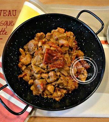 Recette Axoa - Recette ragoût de veau pays basque cocotte chez Kaderick en Kuizinn