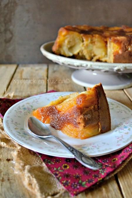 Dégustation Gateau pommes - Moelleux aux pommes façon tatin chez Kaderick en Kuizinn©