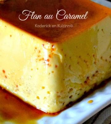 Recette Entremet ou Flan caramel Omnicuiseur Vitalité 6000 chez Kaderick en Kuizinn©