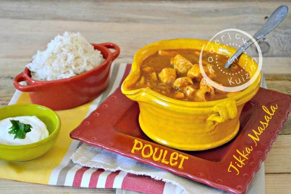 Recette Pataks - Partenariat et recette poulet Tikka Masala chez Kaderick en Kuzinn©