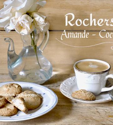 Recette rochers - Recette facile rochers amande noix coco - Kaderick en Kuizinn