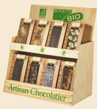 Artisan chocolatier Bovetti bio
