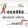 Logo ma recette devient recette 38 Kaderick en Kuizinn