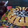 Recette moelleux nectarines ou bundt cake nectarine confiture chez Kaderick