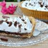 Recette tarte chocolat curd meringuée au chocolat Bovetti chez Kaderick en Kuizinn