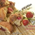Recette madeleine fourree - Madeleine confiture fraises mures chez Kaderick en Kuizinn©