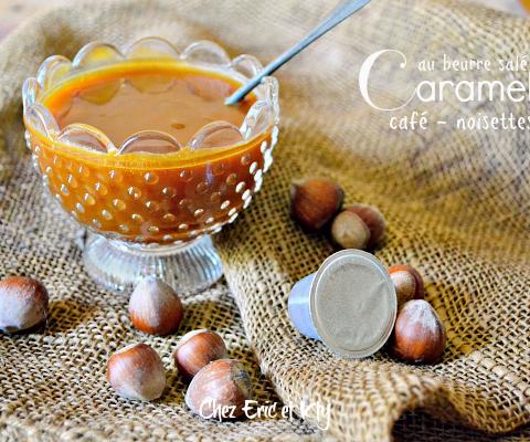 Recette caramel cafe - Caramel café au beurre salé en pâte tartiner chez kaderick