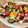 Recette plancha legume - Légumes grillés œufs paprika Gut chez Kaderick