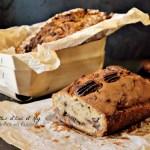 Recette cake à la crème de marrons pépites de chocolat et noix de pécan