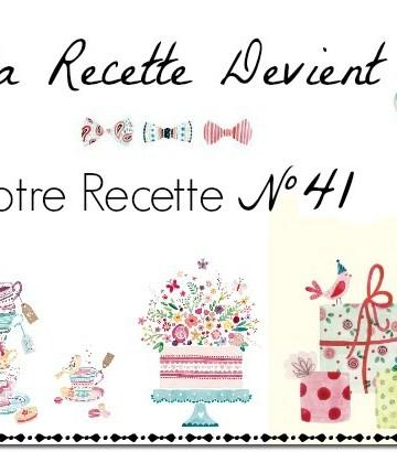 Logo blog ma recette devient votre recette n°41 Kaderick en Kuizinn