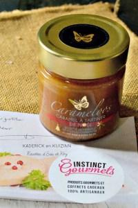 Partenariat Instinct Gourmets Carameloos de Noël sur Kaderick en Kuizinn