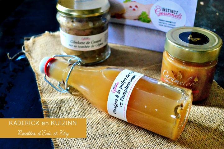 Partenariat produits marque Instinct Gourmets