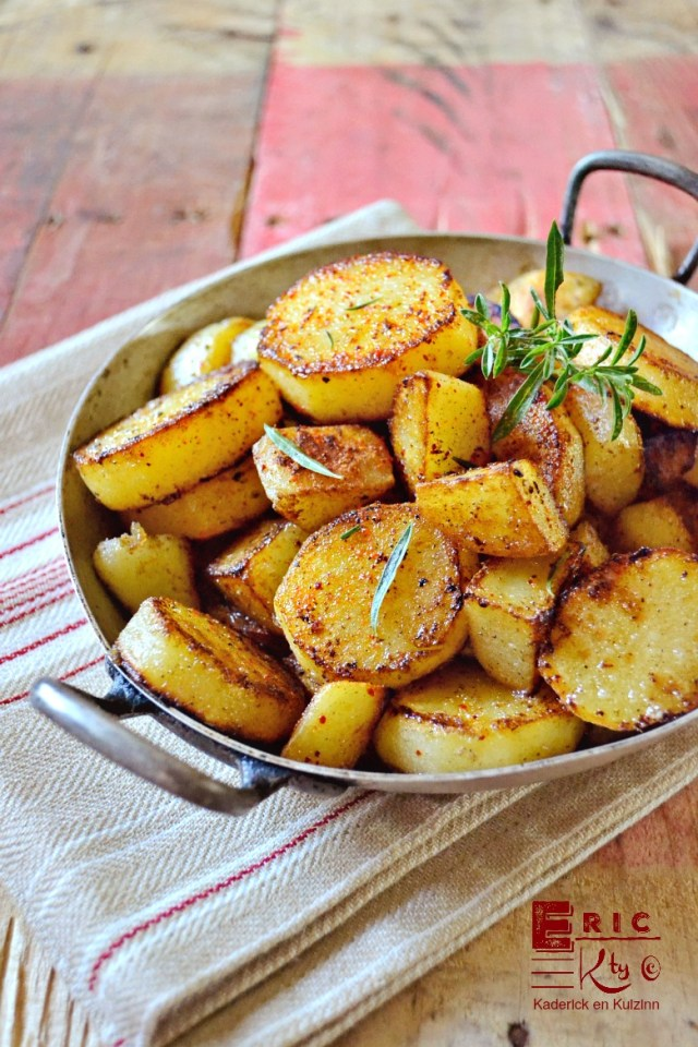 Plancha pommes de terre rissollees plancha accompagne poisson viande