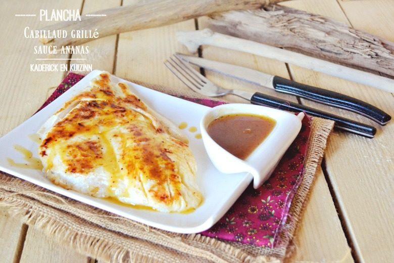 Recette plancha poisson cuisine de poisson la plancha - Que faire sur une plancha ...