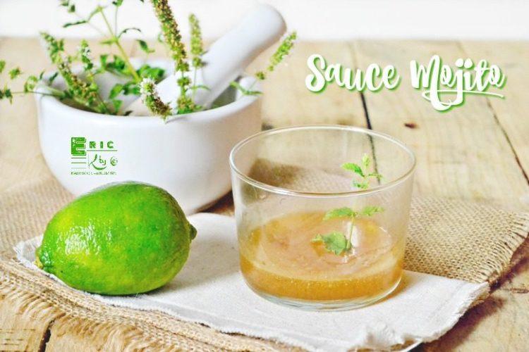 Mojito - Recette sauce mojito citron vert menthe rhum - Kaderick en Kuizinn