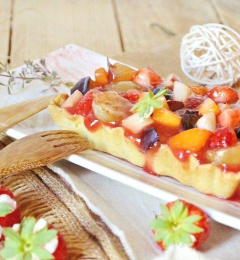 Tartelette multi fruits frais recette saison fait maison - Kaderick en Kuizinn