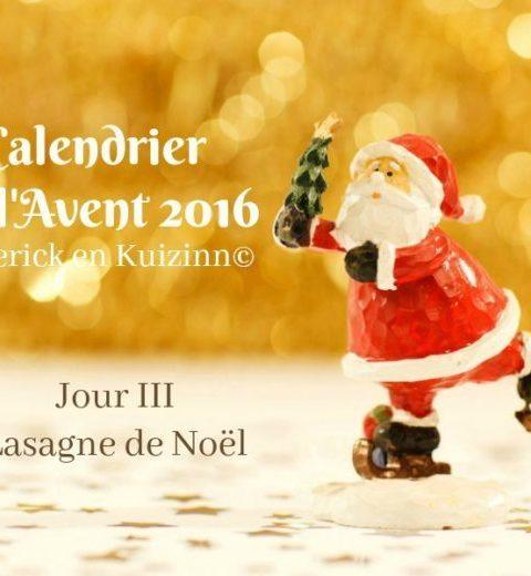 calendrier jour 3 du calendrier de l'avent 2016
