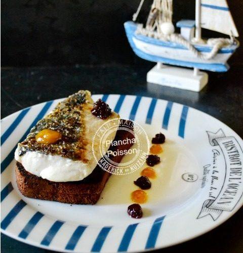 Filet poisson plancha pain epices - images a la une