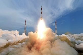 ISRO hit Record