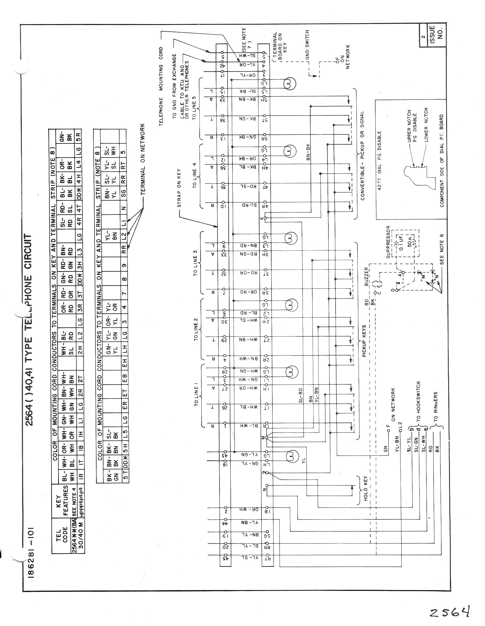 Itt Telephone Wiring Diagram