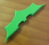 3D printed Batman Weapon
