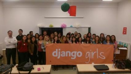 Django Girls Eskişehir 9 Nisan etkinliği