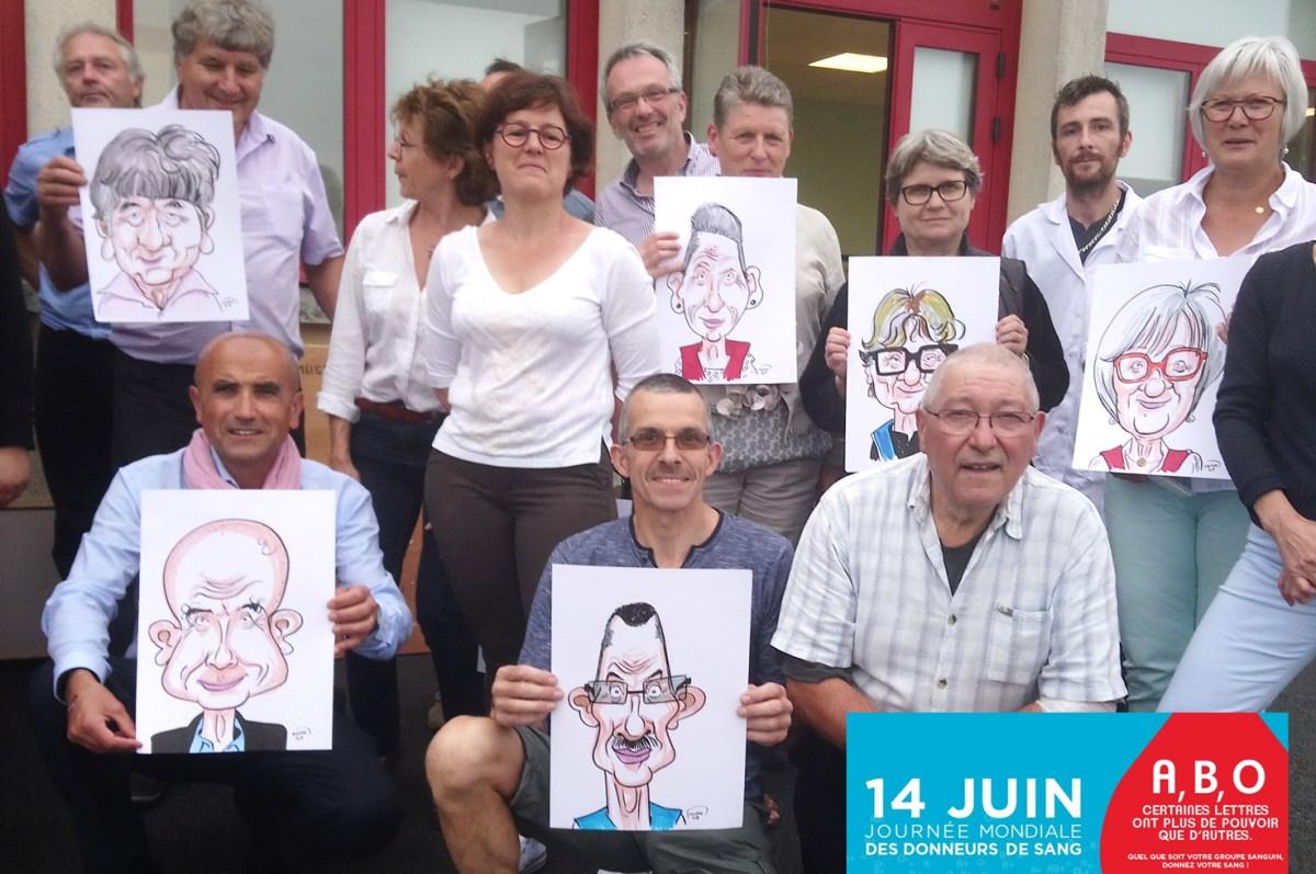 Journée mondiale des donneurs(euses) de sang à Luceau