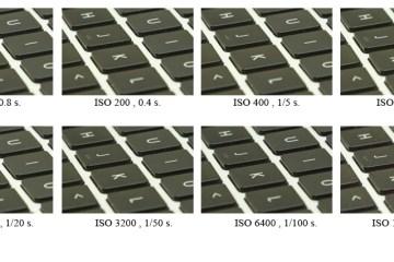 Wpływ parametru ISO na jakość zdjęć oraz na czas naświetlania