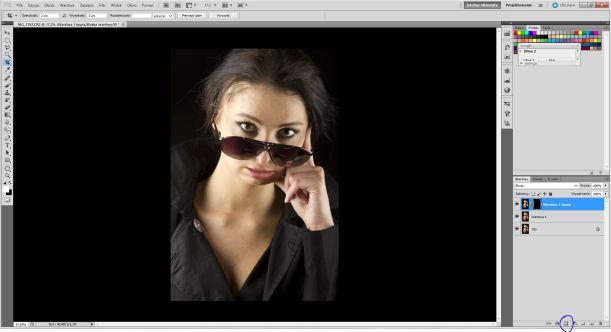 Tworzenie odwróconej maski w programie Adobe Photoshop