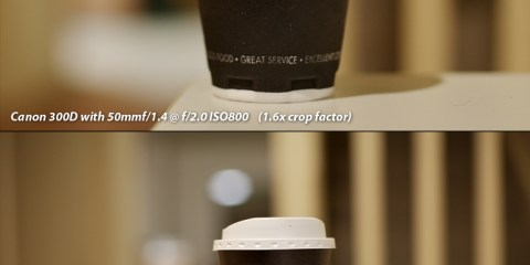 Full Frame Sensor vs 1.6 crop