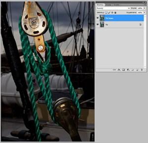 Tryb mieszania warstw Photoshopie - Multiply (Pomnóż)