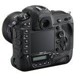 Nikon D4S widok na panel sterujący