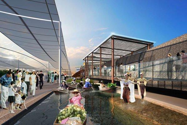 Winning Design of Thai Pavilion for 2015 Milan Expo,milan expo, expo 2015, architecture, winning desing, Office of Bangkok Architects, oba