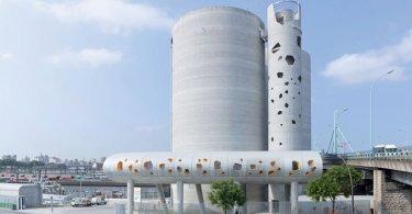 modern industrial architecture,
