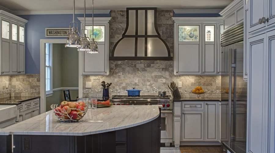 builder grade kitchen remodel,