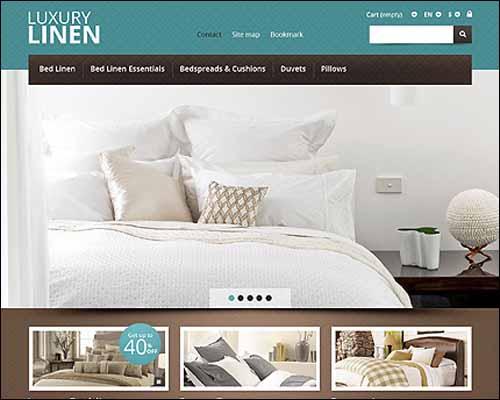 Responsive Linen Store PrestaShop Theme