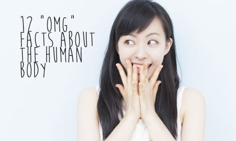 interesting facts about human body,